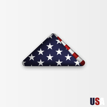 Triangularly Folded American F...