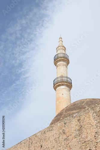 Fotografia  Minarett der Neratze Moschee in Rethymnon, Kreta