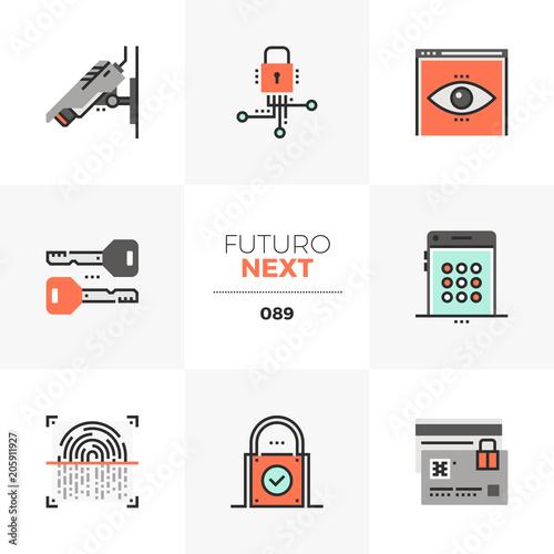 Fotografía  Privacy Protection Futuro Next Icons