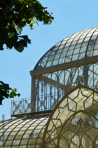 Fotografie, Obraz  Tepidarium detail, Horticultural Garden of Florence, Italy