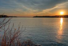 Grand Lake At Sunset