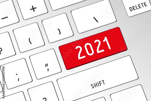 Fotografia  2021 - 3D computer keyboard