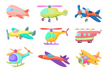 Illustrations Of Aeroplanes In...