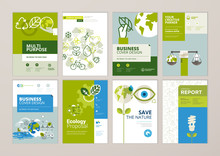Set Of Brochure And Annual Rep...