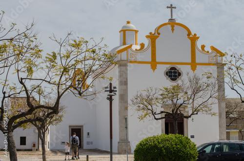 Papiers peints Con. ancienne City symbol - Castle Tavira in Portugal