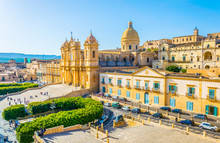 Basilica Minore Di San Nicolò In Noto, Sicily, Italy