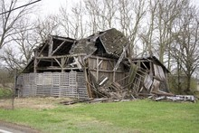 Broken Down Barn Or Outbuilding