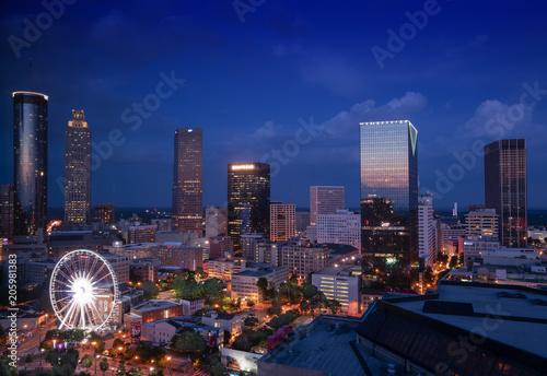 City Of Atlanta Canvas Print