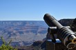 Viewing telescope at the Grand Canyon