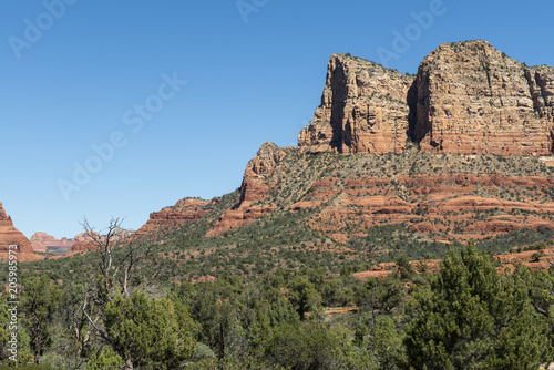 Papiers peints Cappuccino View from Red Rock Scenic Byway in Sedona, Arizona