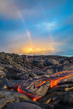 Hot Lava On The Big Island Of ...
