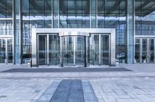Modern Business Office Building Exterior