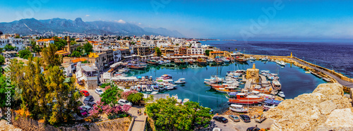 Photo sur Toile Chypre Kyrenia marina in Cyprus