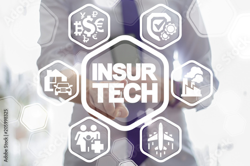 Insurtech. Insurance Life Business Health Life Car House Money Travel Factory Production. Guarantee Safety and Quality.