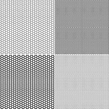 Vector Fishnet Pattern In Orna...