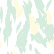 Military camouflage texture with trees, branches, grass and watercolor stains