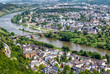 Panoramablick auf Trier , älteste Stadt Deutschlands
