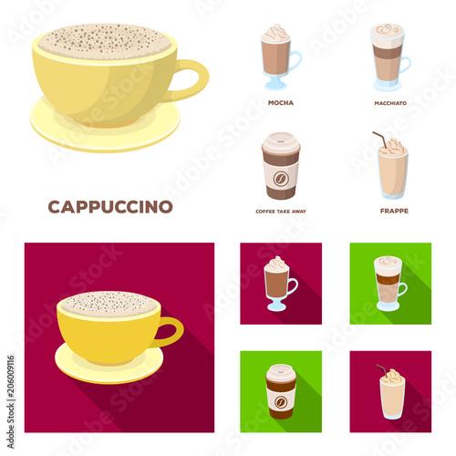 Fotografie, Obraz  Mocha, macchiato, frappe, take coffee