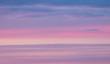 Leinwandbild Motiv sky at sunset as background