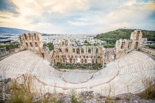 Zdjęcie XXL Amfiteatr w Atenach w Grecji