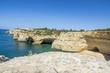Falaises au sud du Portugal en Algarve