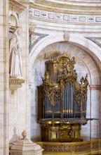 The Pipe Baroque Organ In  Aps...