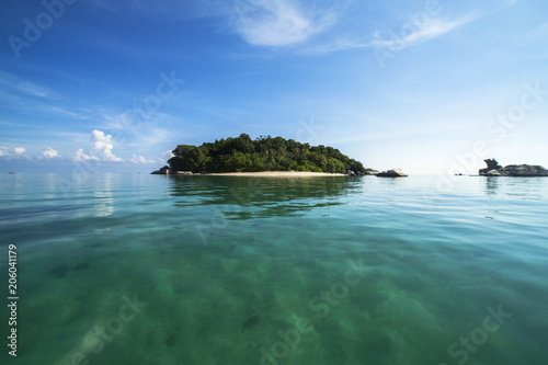 Foto op Canvas Eiland Island at Belitung Island, Indonesia