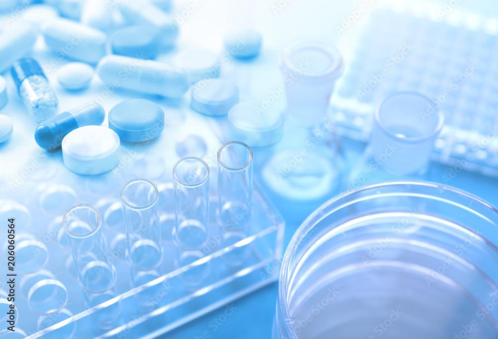 Fototapeta 医薬品の開発