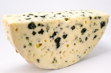 Half Moon Of Roquefort Cheese From France