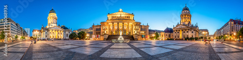 Gendarmenmarkt Panorama in Berlin