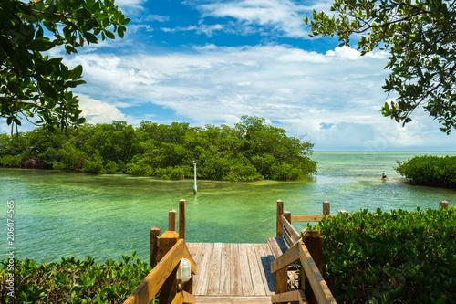 Beautiful view of the Florida Keys. Canvas-taulu