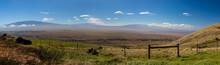 Panorama Hawaii Volcanos