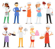 Chef Vector Cook Character Wom...
