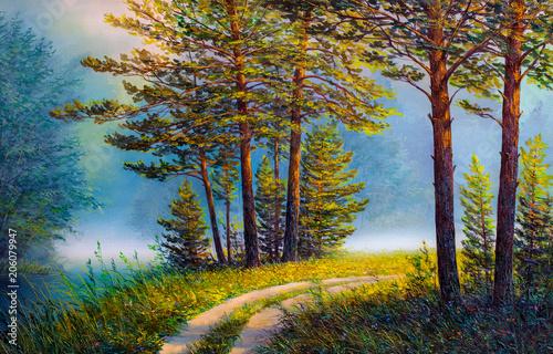 krajobraz-kolorowy-lato-las