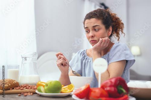 Fotografía  Lack of appetite