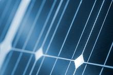 Clean Energy Concept, Solar Panel Detail