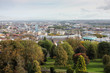 view of Bristol UK from the city park