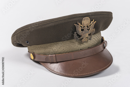Photo Second WWII Aviator Hat