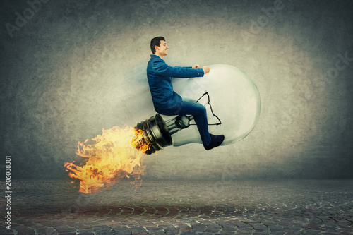 Fotografía  fast rocket bulb