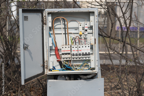 Phenomenal The Electrical Box Contains Many Terminals Relays Wires And Wiring Cloud Hisonuggs Outletorg