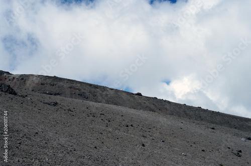 Papiers peints Gris traffic Entre volcan et nuages