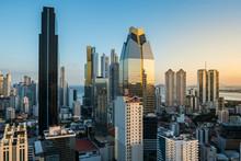 Modern Skyscraper Building City Skyline Of Panama City -