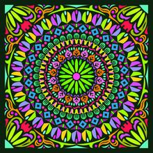 Colorful Mandala Art Beautiful...