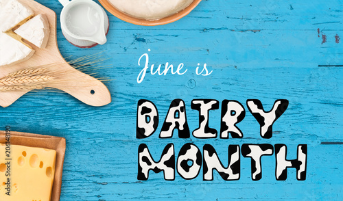 Recess Fitting Dairy products World Milk Day and June Dairy Month