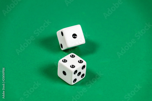 Photo  Nicknames of dice in the game of craps