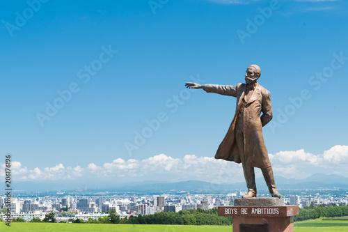Foto  クラーク博士像 / 札幌観光のイメージ