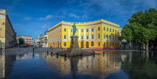 Spoed Foto op Canvas Theater Odessa Seaside Boulevard in Ukraine