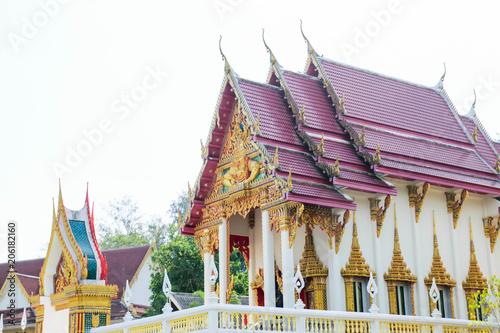 Fotobehang Bedehuis Temple in Phuket
