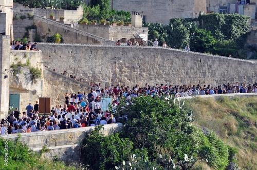 Valokuva  Matera 2 Luglio - Processione dei Pastori - Sassi