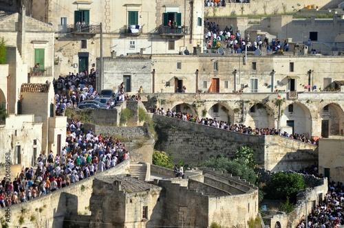 Fotografiet  Matera 2 Luglio - Processione dei Pastori - Sassi